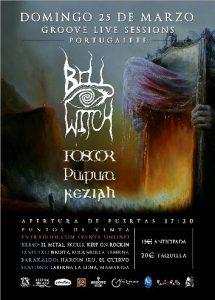 Bell Witch + Foscor + Purpura + Keziah @ Portugalete (Sala Groove)