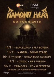 Diamond Head @ Vitoria - Gasteiz (Sala Urban Rock Concept)