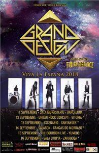 Grand Design + Fullresistance @ Vitoria - Gasteiz (Sala Urban Rock Concept)