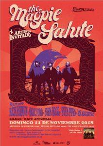 The Magpie Salute + Artista Invitado @ Bilbao (Kafe Antzokia)