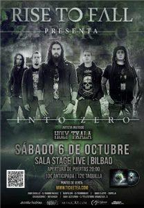 Rise To Fall + Holy Txala @ Bilbao (Stage Live)