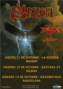 Saxon + FM + Raven @ Bilbao (Santana 27)