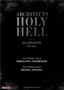 Architects + Beartooht + Polaris @ Bilbao (Santana 27)