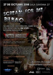 SCREAM FOR ME BILBAO @ Bilbao (Santana 27)