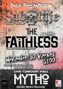 Sabotaje + The Faithless @ Bilbao (Mytho)