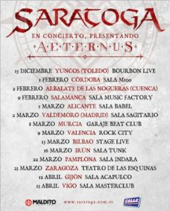 Saratoga @ Bilbao (Stage Live)