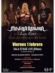 Medina Azahara @ Bilbao (Stage Live)