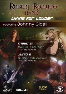 Robert Rodrigo Band ft. Johnny Gioeli @ Bilbao (Kafe Antzokia)