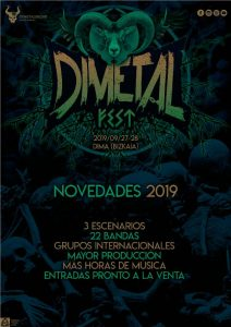 DIMETAL FEST: Destruction +Childrain + Soldier + Boneflower + Koma + Trallery + El Altar Del Holocausto + Orion Child + Uckaia + Legen Beltza + Fear Crowd + Elbereth + Rise To Fall + Knives + Balmog + Insaniam + Strikeback + Hex + The Broken Horizon + Bonfire + Leyenda + Misanthropy + The Eleventh Plague