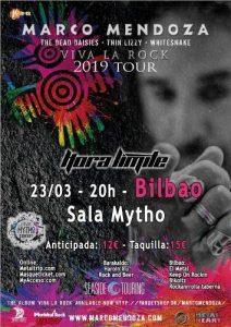 Marco Mendoza + Hora Límite @ Bilbao (Mythos Live)