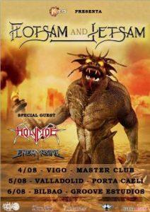 Flotsam And Jetsam + Holycide + Enemynside @ Valladolid (Porta Caeli)