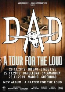 D-A-D @ Bilbao (Stage Live)