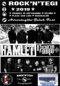 Hamlet + Escuela de Odio @ Barakaldo, Plaza San Luis (Fiestas de Rontegi)