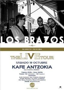 Los Brazos @ Bilbao (Kafe Antzokia)