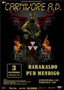 Carnovore A.D. @ Barakaldo (Pub Mendigo)