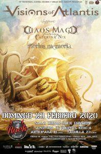 Visions Of Atlantis + Chaos Magic + Morlas Memoria @ Vitoria - Gasteiz (Sala Urban Rock Concept)