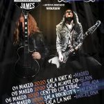 JARED JAMES NICHOLS & LAURA COX + WOLFJAW EN MARZO