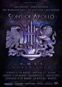 Sons Of Apollo @ Bilbao (Santana 27)