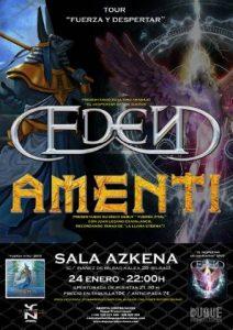 Eden + Amenti @ Bilbao (Azkena)