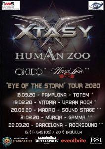 Xtasy + Human Zoo + Óxido @ Vitoria - Gasteiz (Sala Urban Rock Concept)