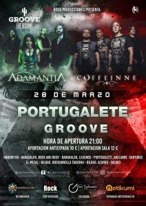 Coffeinne + Adamantia @ Portugalete (Sala Groove)