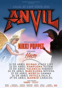 Anvil @ Bilbao (Stage Live)